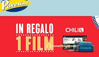 Logo Pavesini ti regala un film sulla piattaforma Chili