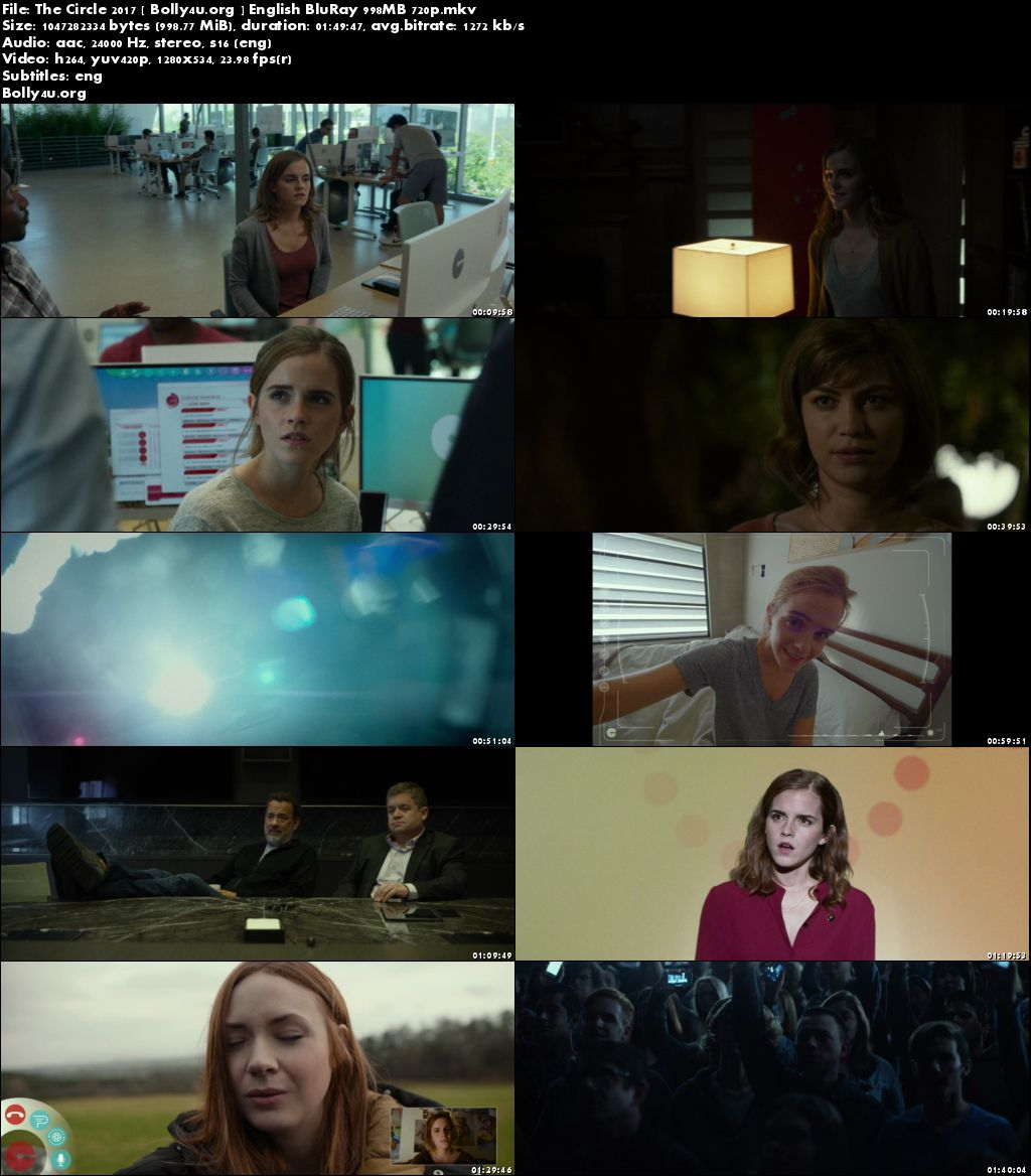 The Circle 2017 BRRip 350Mb English 480p Download