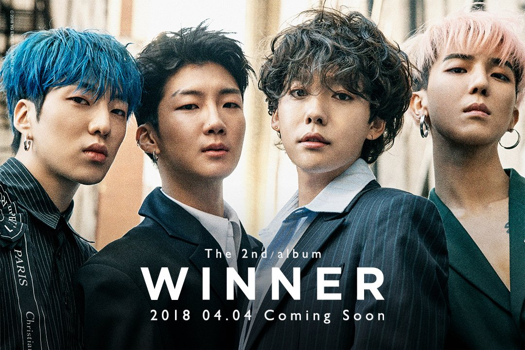WINNER 2ND Album Comeback Official Poster