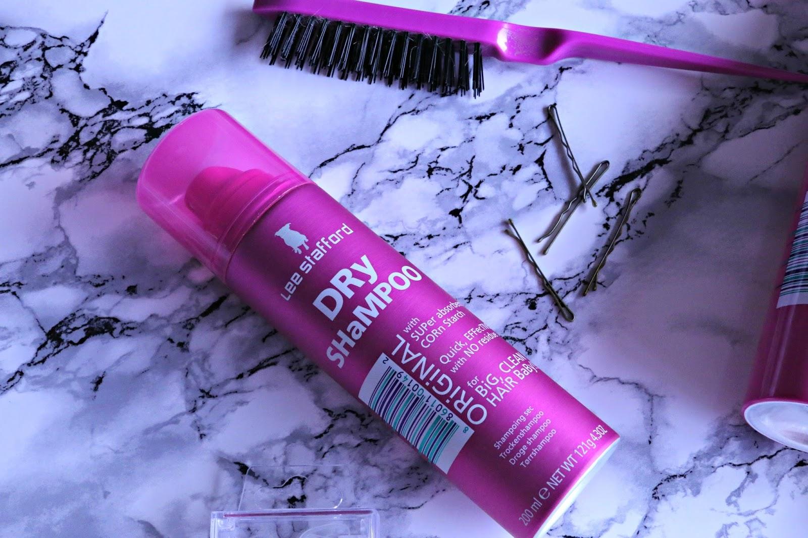 How to Create Unicorn Braids Lee Stafford Original Dry Shampoo Review Image