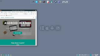 KDE Plasma Flat Activities Wallpaper 4 Emulate
