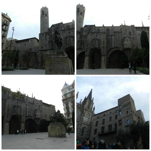 Free Walking Tour em Barcelona - Plaça Ramon Berenguer