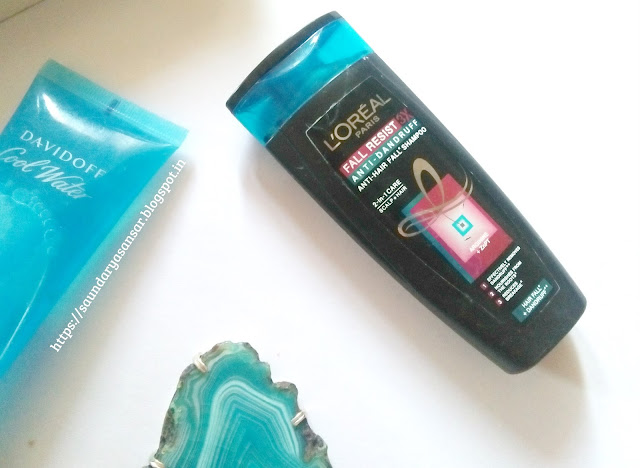 Loreal Paris Fall Resist Anti Dandruff shampoo Review