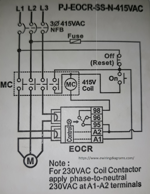 Pleasing Electronic Overload Relay Wiring Diagram Eocr Ss Wiring Digital Resources Indicompassionincorg
