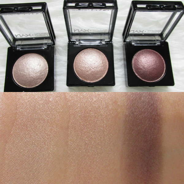 NYX Baked Eyeshadows trocken Supernova, Euphoria, Chance