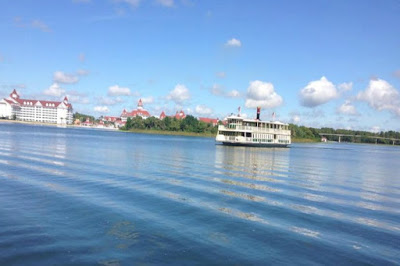 The Magic Kingdom Ferry Boat in Orlando Florida