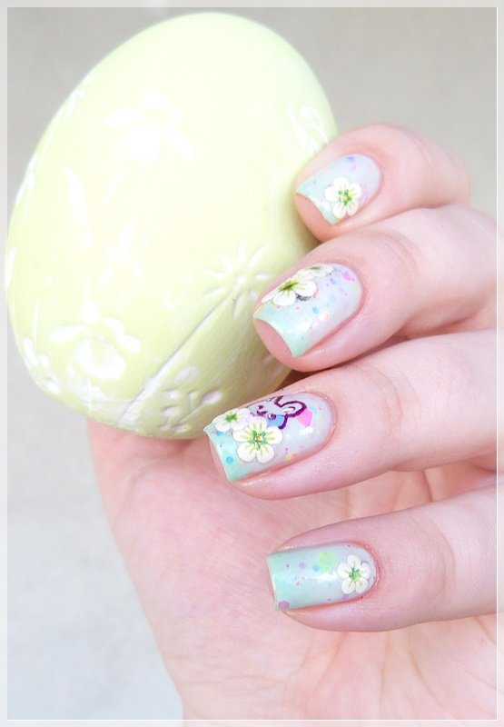 Nageldesign Blumen