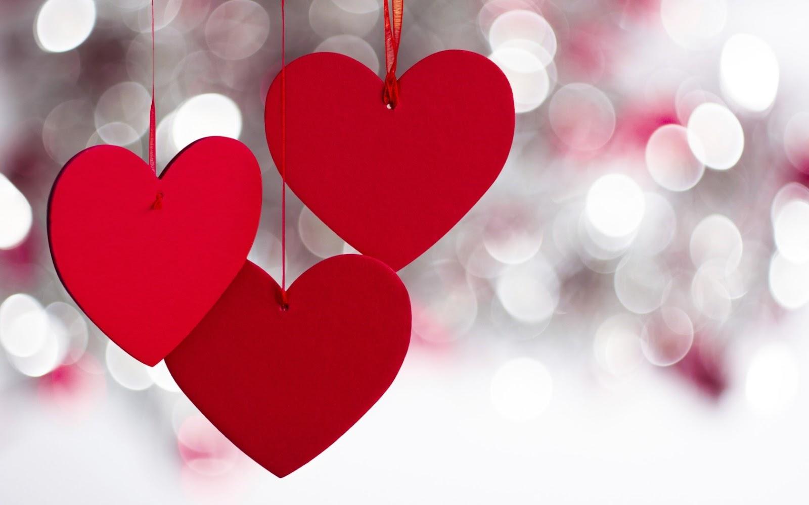 3 lovely red heart wallpaper beautiful