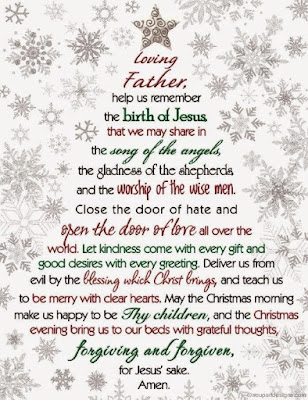 prayer for christmas party