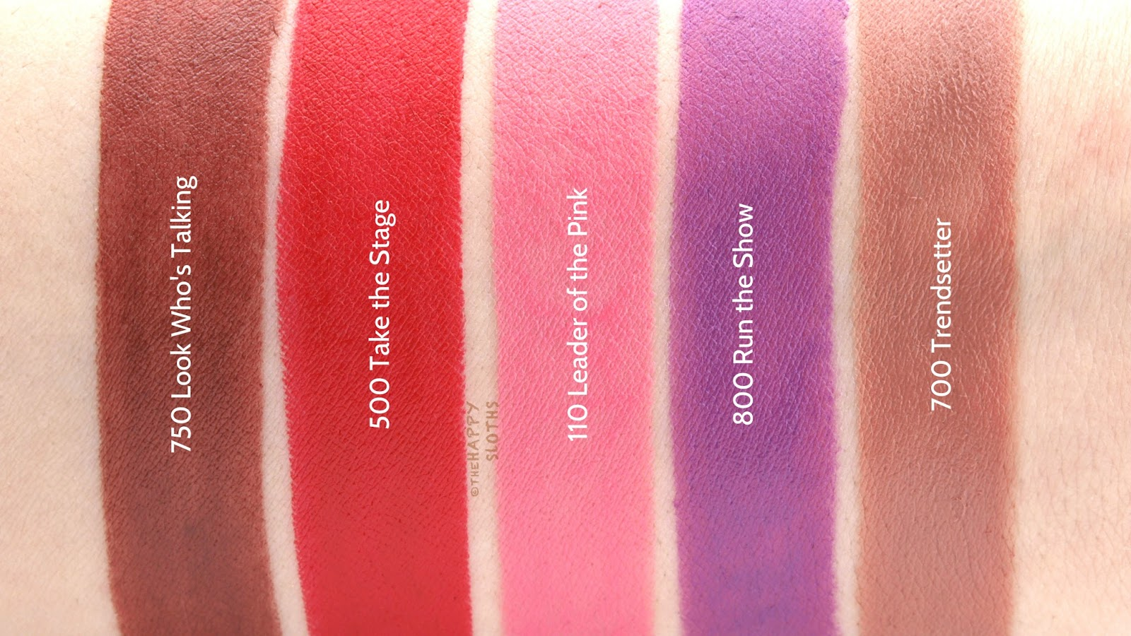 Rimmel London The Only 1 Matte Lipstick: Review and Swatches | The ...