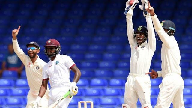 भारत - वेस्टइंडीज़ के बिच खेला गया प्रेक्टिस मेच ड्रा