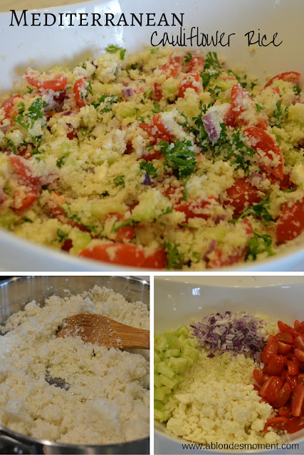 mediterranean-cauliflower-rice-packable-lunch-idea