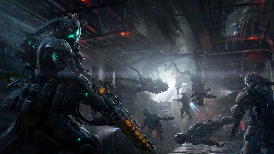 Sci-Fi, Soldiers, 4K, #4.1018