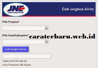 http://www.caraterbaru.web.id/2016/02/cara-terbaru-cek-ongkir-jne-dengan.html
