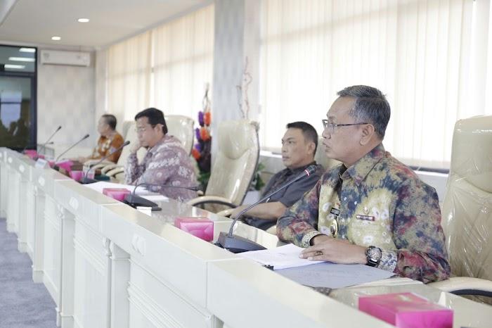 Tim TPAD dan DPRD Lampung Tindaklanjuti Hasil Evaluasi Kemendagri tentang APBD 2018