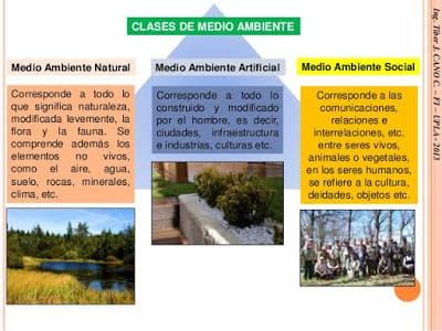 Tipos de Medio Ambiente