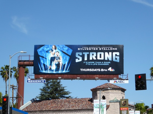 Strong series launch billboard