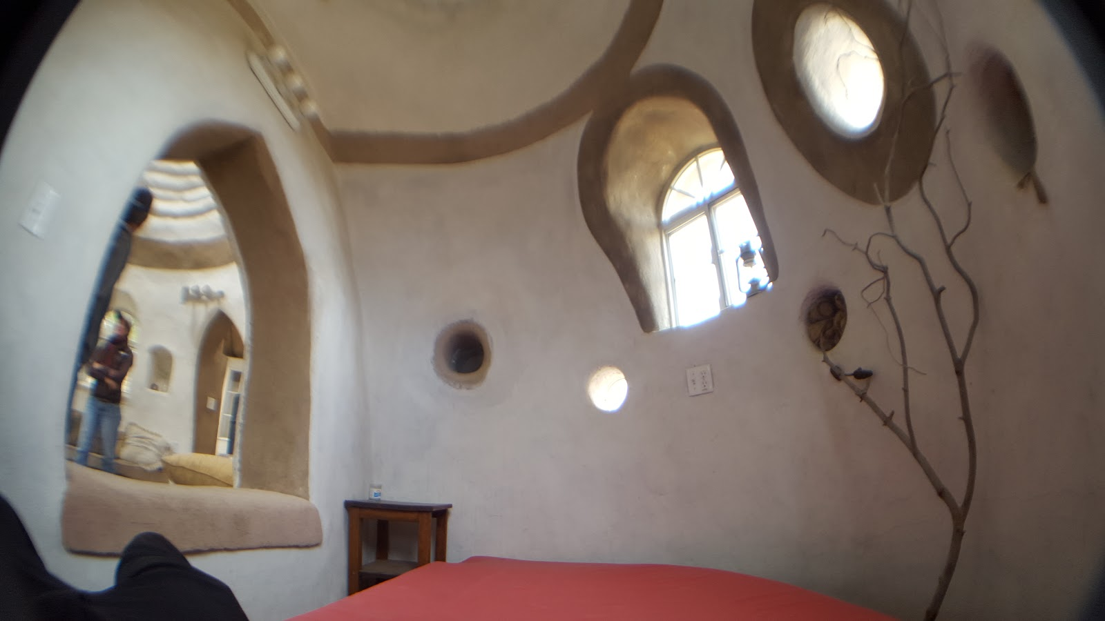 Scott's Superadobe Build Across Time: Cal-Earth Open House on