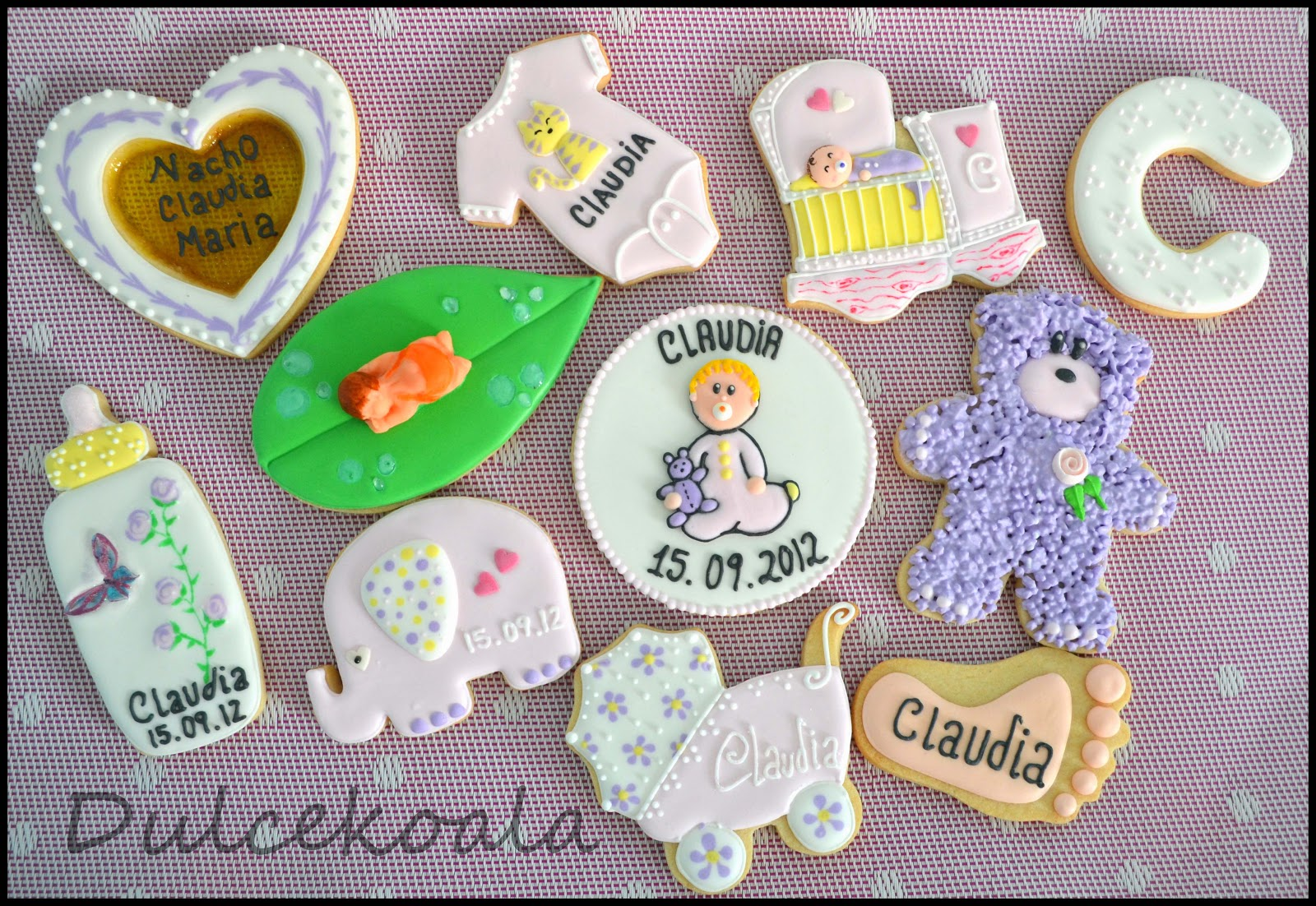 Galletas Decoradas Para Fiestas Infantiles