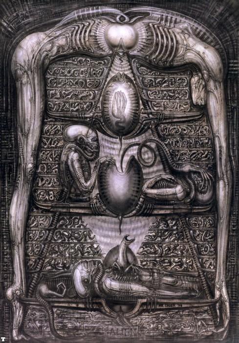 Michael Offutt: H.R. Giger's Alien movie concept art ... H.r. Giger Prometheus