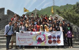Tour Halal Universitas Gunadarma Ke Beijing