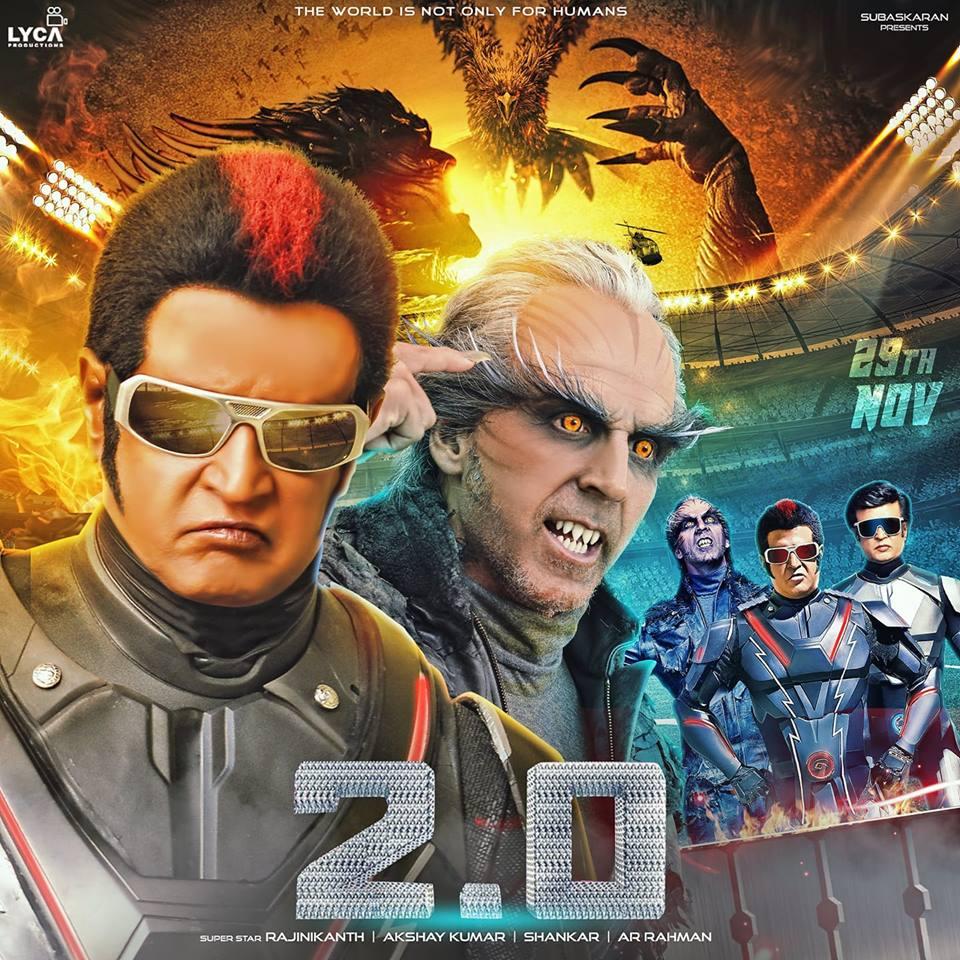 2.0 (2018) Hindi New 400MB Pre-DVDRip 480p x264 Best
