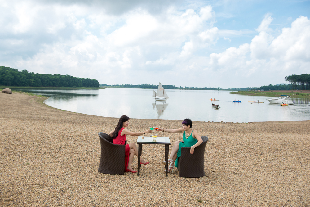 Hình ảnh du lịch hồ Đại Lải Hà Nội Vĩnh Phúc