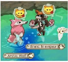 how to get a nonmember arctic wolf on animal jam