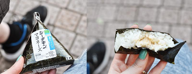 onigiri w Japonii