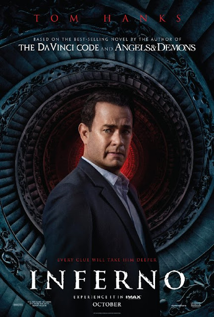 Inferno (2016) Movie Sinopsis - Felicity Jones, Tom Hanks, Ben Foster