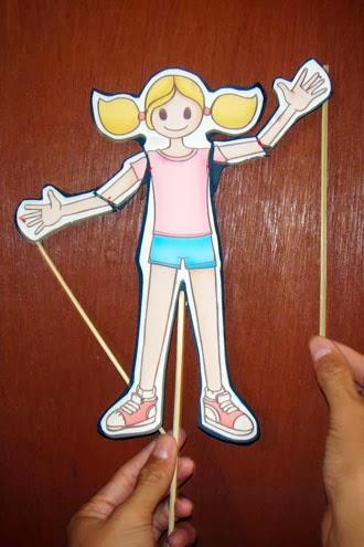 Permainan Boneka Wayang Untuk Anak Paud Anak Paud Bermain Belajar