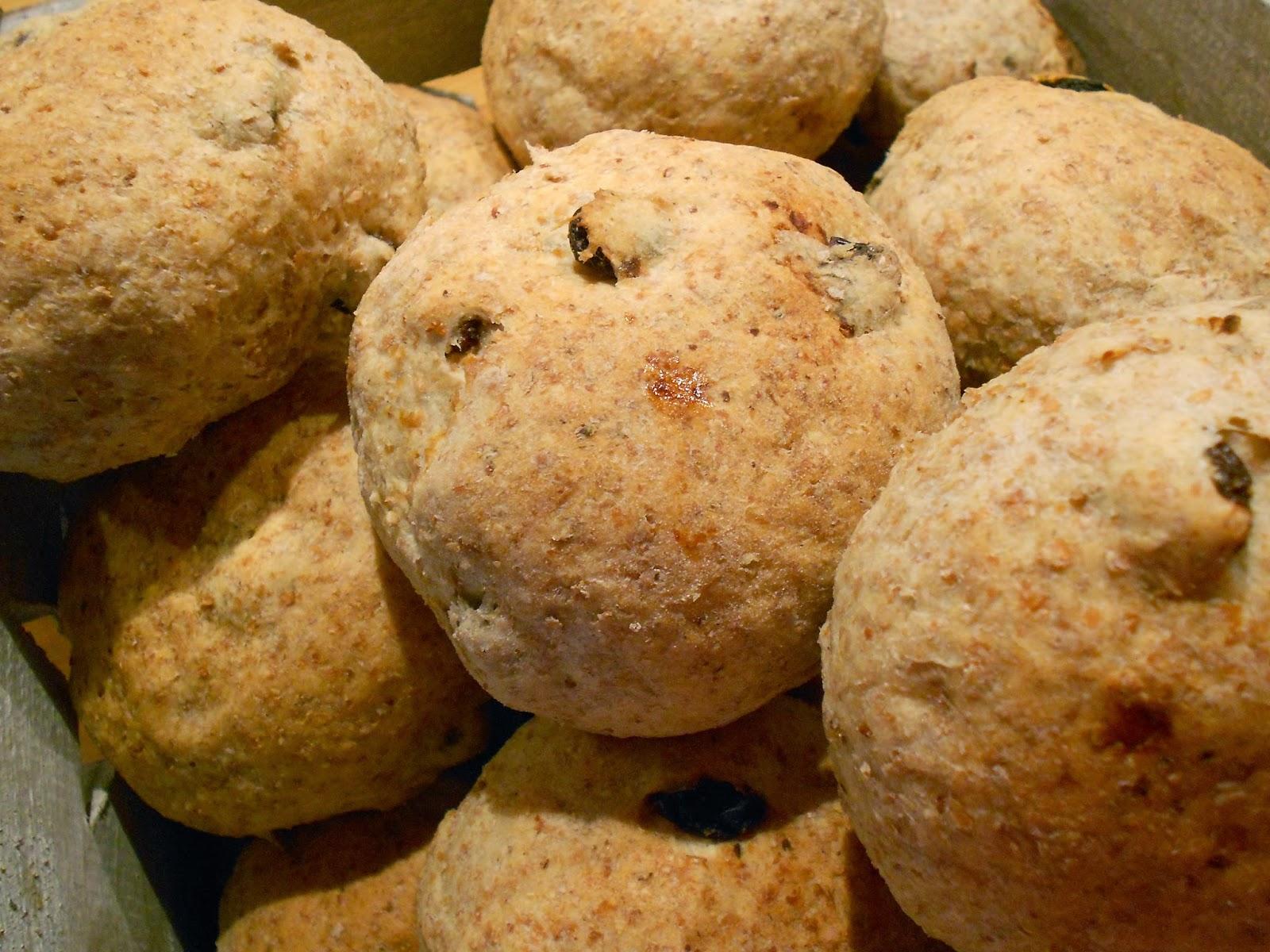 grahamsbullar med morötter