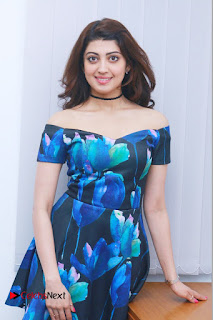 Actress Praneetha Latest Stills in Floral Short Dress at Enakku Vaaitha Adimaigal Press Meet  0008.jpg