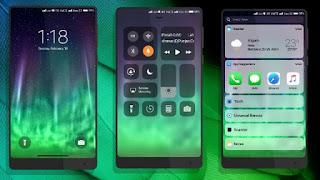 Download Tema Terbaru iOS X Black Miui untuk Xiaomi