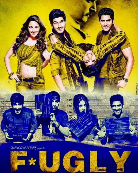 Fugly (2014) Web Rip | Full Movie Free Download ( single download links ) - LK Download