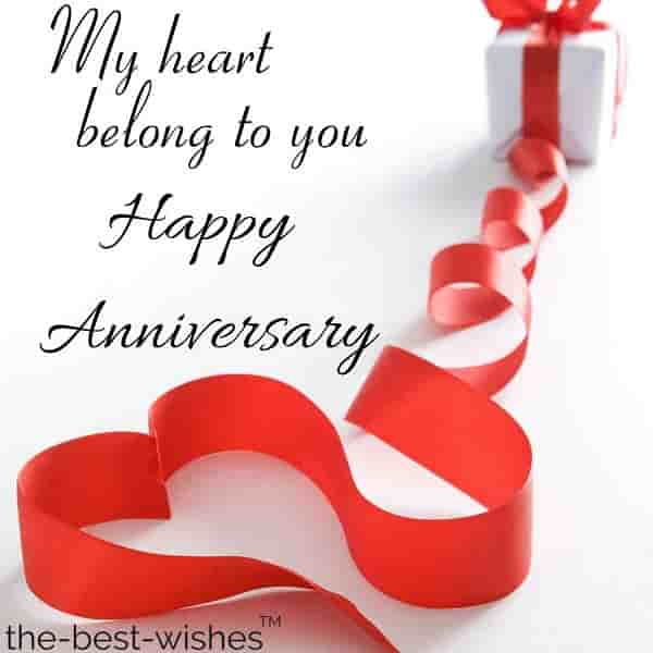 anniversary message for him