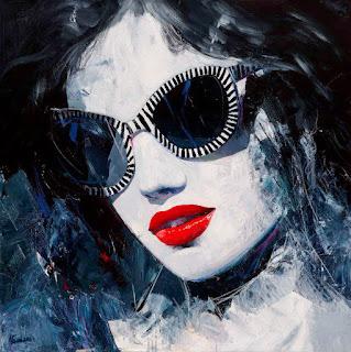 chicas-con-gafas-pintura-abstracta