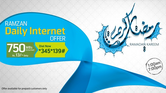 telenor remzan internet package 2016