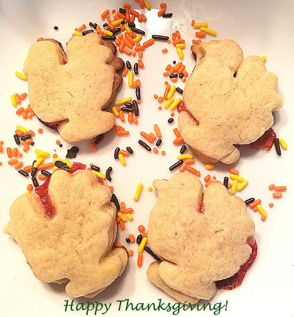 shortbread turkey cutout cookies #fun #kids #cookies #cookie cutter #thanksgiving