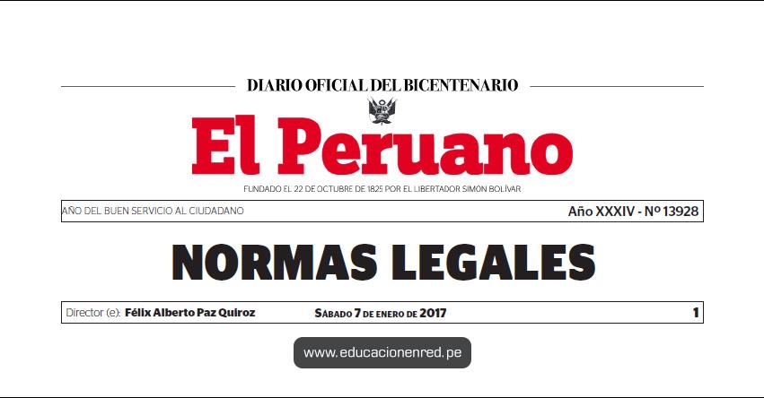 D. S. N° 002-2017-PCM - Declaran el Año 2017 como el «Año del Buen Servicio al Ciudadano» PCM - www.pcm.gob.pe