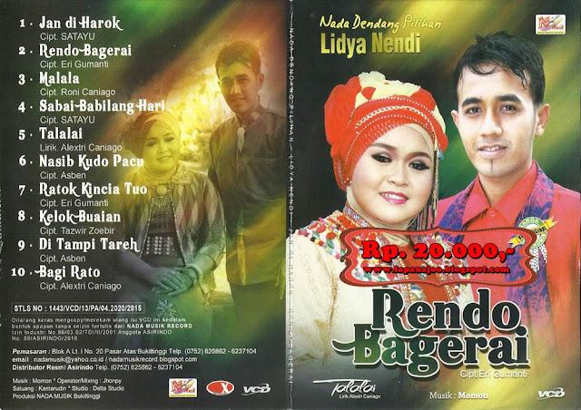 Lidya & Nendi - Rendo Bagerai (Album Nada Dendang Pilihan)