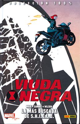Viuda Negra la más buscada de SHIELD, de Waid, Samnee y Wilson