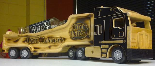 miniatur truk kontainer keren