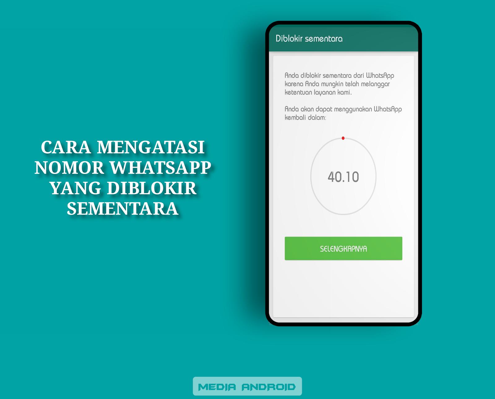 Mengatasi Akun WhatsApp Yang Diblokir