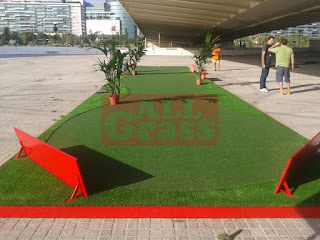 putting green de césped artificial