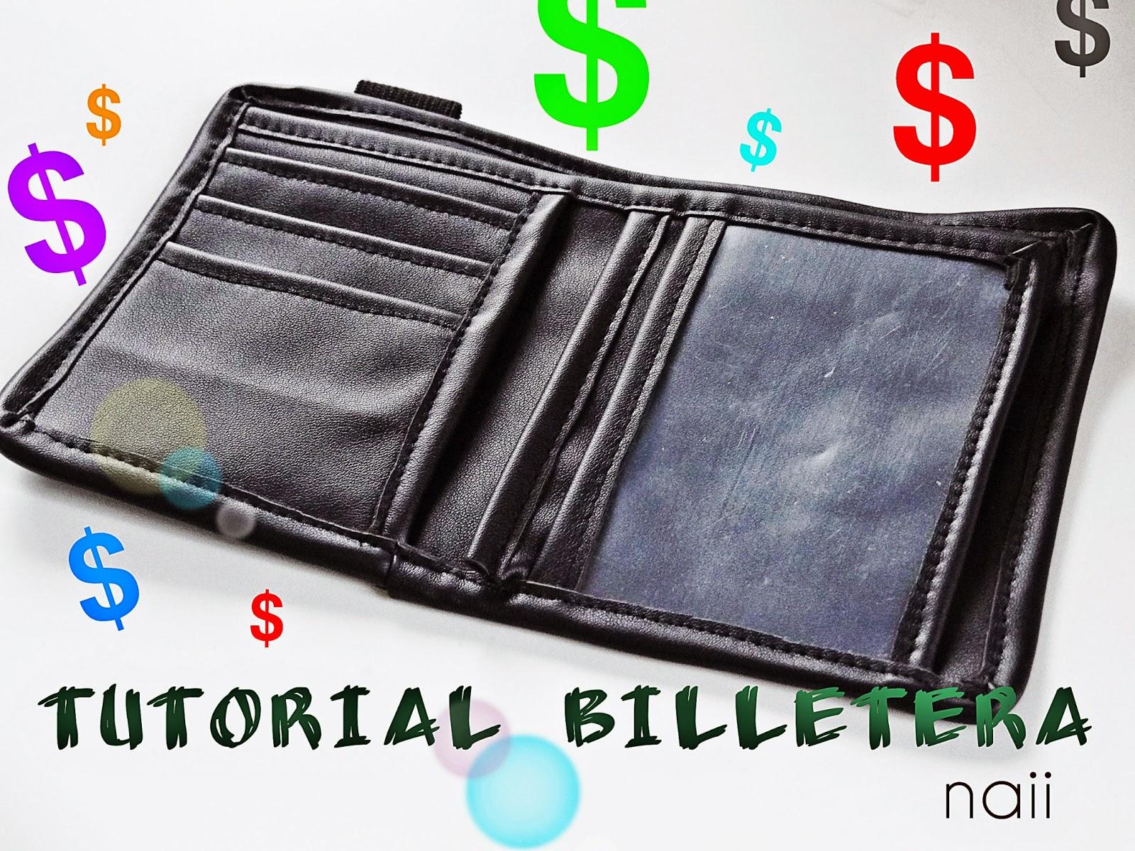 8b8998ff1 Tutorial + patron billetera - Naii Costura y Patronaje