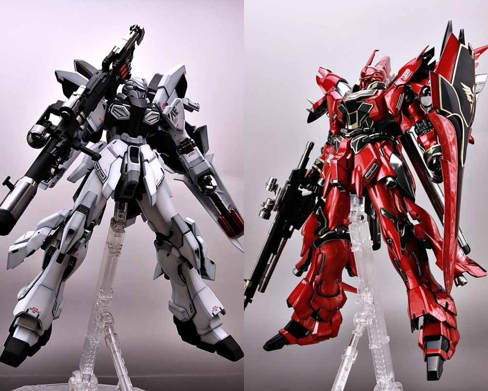 GUNDAM GUY: MG 1/100 Sinanju Stein Ver. Ka. - Painted Build