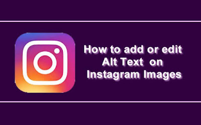 Add Alt Text to Instagram Images