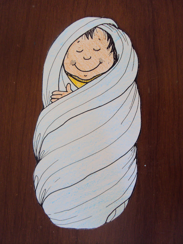 Baby Moses Found Princess