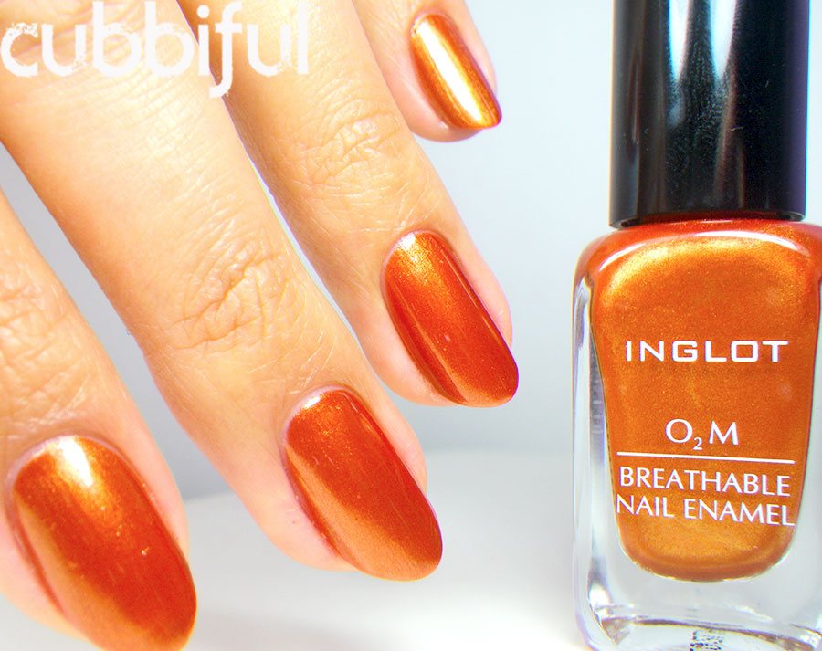 Inglot O2M No.629 - Swatch & Review
